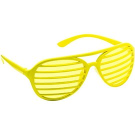 Yellow Slot Glasses