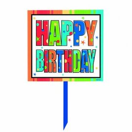 A Year To Celebrate Happy Birthday Yard Sign
