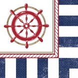 Anchors Aweigh Beverage Napkin-16ct