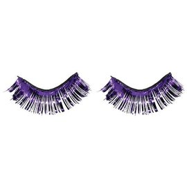 Purple Tinsel Eyelashes