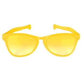 Yellow Jumbo Glasses