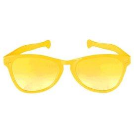Yellow Jumbo Glasses