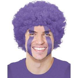 Purple Curly Wig