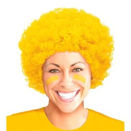Yellow Curly Wig