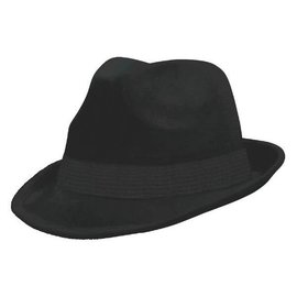 Black Velour Fedora