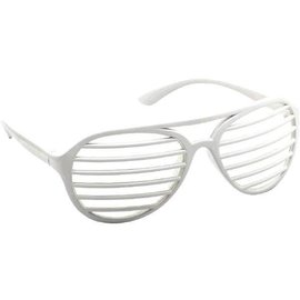 White Slot Glasses
