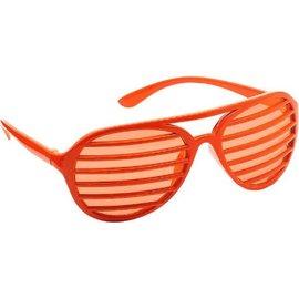Orange Slot Glasses