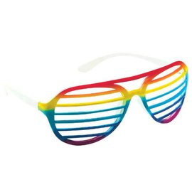 Rainbow Slot Glasses