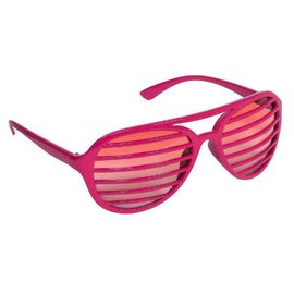 Pink Slot Glasses
