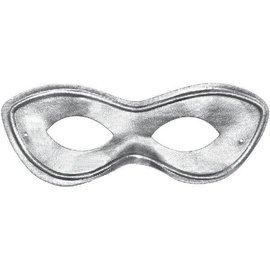 Silver Superhero Mask