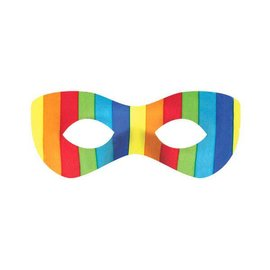 Rainbow Super Hero Mask