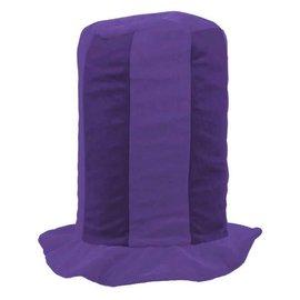 Purple Tall Top Hat