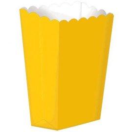 Small Popcorn Box - Yellow Sunshine