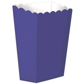 Small Popcorn Box - New Purple 5ct.