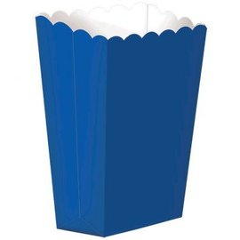 Small Popcorn Box - Bright Royal Blue 5ct.