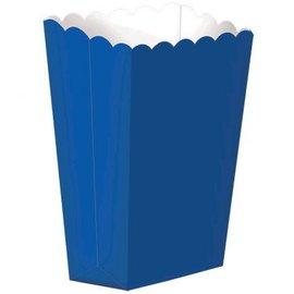 Small Popcorn Box - Bright Royal Blue 5ct.