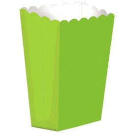 Large Popcorn Shaped Box - Kiwi 10ct.
