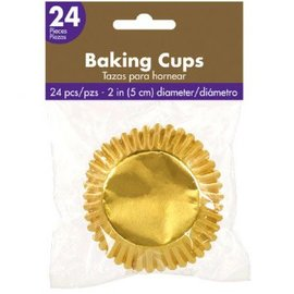 Cupcake Cases - Gold 24ct.