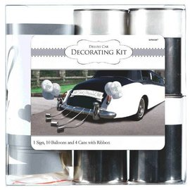 Wedding Deluxe Car Decorating Kit