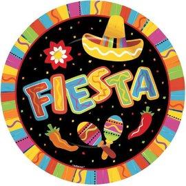 """Fiesta Fun Round Plates, 10 1/2"""" 8ct"""