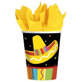 Fiesta Fun Cups, 9 oz. 8ct