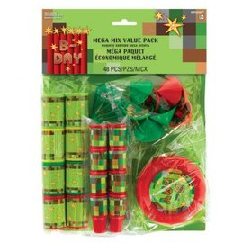 TNT Party! Mega Mix Value Pack Favors 48 piece
