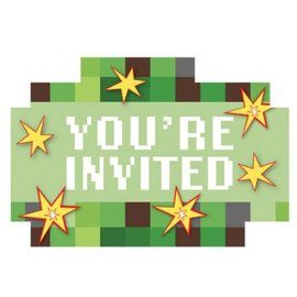 TNT Party! Postcard Invitations 8ct