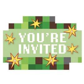 TNT Party! Postcard Invitations 8ct