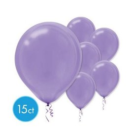 New Purple Solid Color Latex Balloons - Packaged, 15ct
