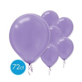 New Purple Solid Color Latex Balloons - Packaged, 72ct