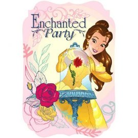 ©Disney Beauty And The Beast Postcard Invitations, 8ct