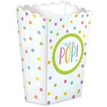 Baby Shower Popcorn Boxes - Neutral 20ct