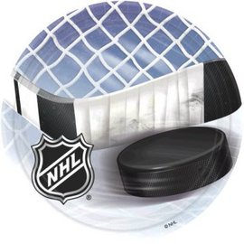 "NHL Ice Time! 9"" Plates-8ct"