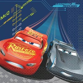 ©DISNEY CARS 3 Luncheon Napkins-16ct - Clearance