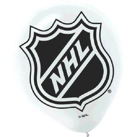 "NHL 12"" Printed Latex Balloons"
