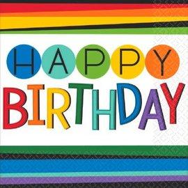 Rainbow Birthday Plastic Table Cover