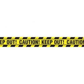 Halloween Value Plastic Caution Tape, 20'