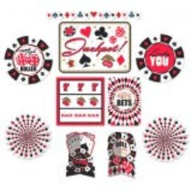 Casino Room Decorating Kit