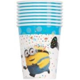 Despicable Me 9oz Paper Cups, 8ct- Clearance