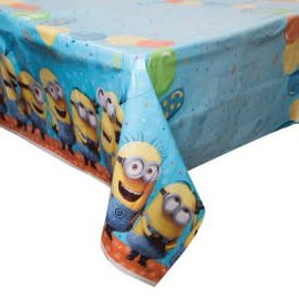 "Despicable Me Plastic Tablecover, 54"" x 102""- Clearance"