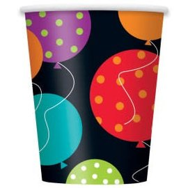 Birthday Cheer 9Oz Cups 8Ct