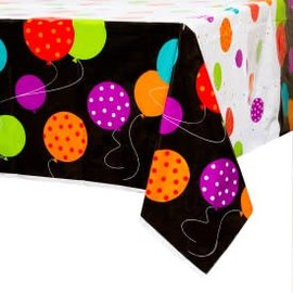Birthday Cheer Plastic Tablecover