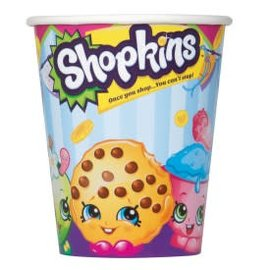 Shopkins 9oz Cups, 8ct- Clearance
