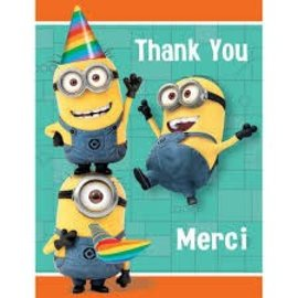 Despicable Me Thank You