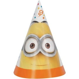 Despicable Me Party Hat 8Ct