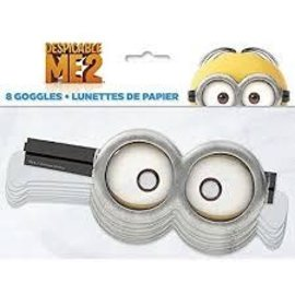 Despicable Me Paper Goggles 8Ct