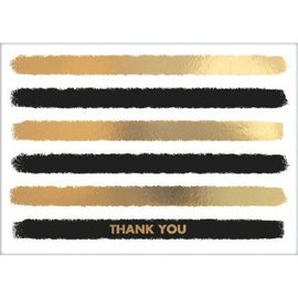 Striped Thank You Cards, Value Pack 20ct