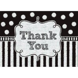 Chalkboard Thank You Cards, 8ct