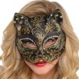 Venetian Cat Mask