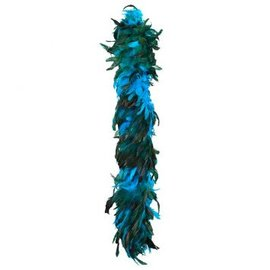 Boa Deluxe Turquoise Feather